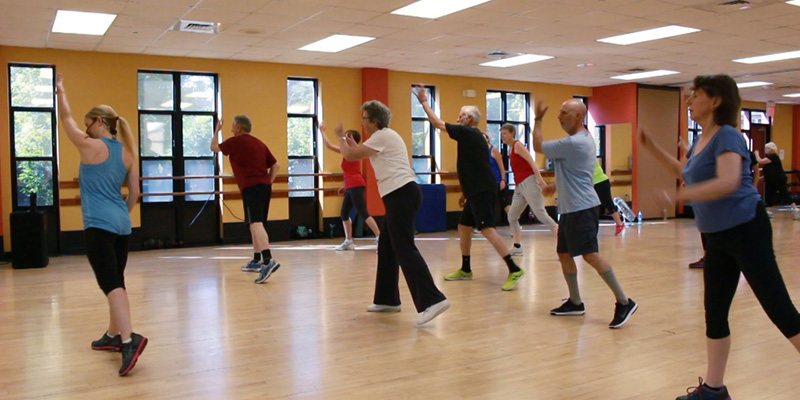 Try Y Group Exercise at the Northampton Senior Center!